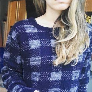 NEW JCrew Plaid Gingham Hunter sweater Madewell